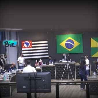Imagem: Captura de tela TV Câmara Ourinhos